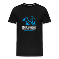 T-Shirts ~ Men's Premium T-Shirt ~ It never gets easier D2 | mens tee