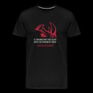 T-Shirts ~ Men's Premium T-Shirt ~ A lion D2 | Mens tee