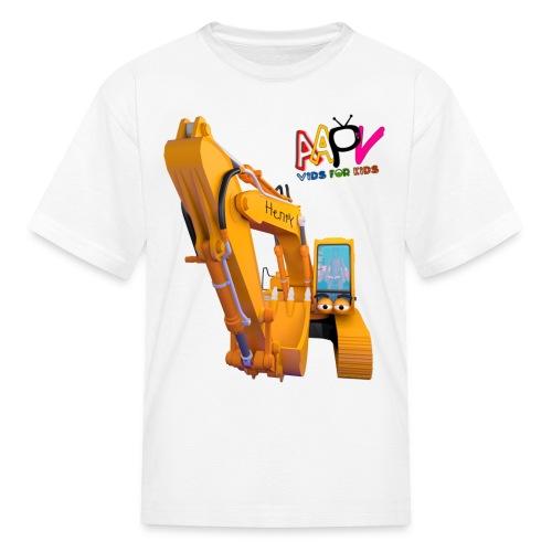Henry Digger Kids T-Shirt - Kids' T-Shirt