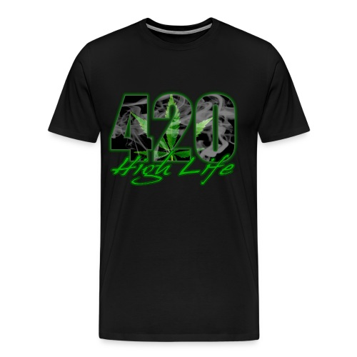 420 high life - Men's Premium T-Shirt