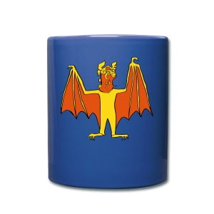 Demon Bat mug - Full Color Mug