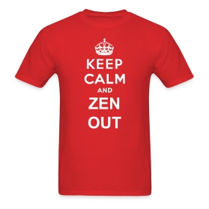 ZEN OUT - Keep Calm Men's T-shirt - Men's T-Shirt