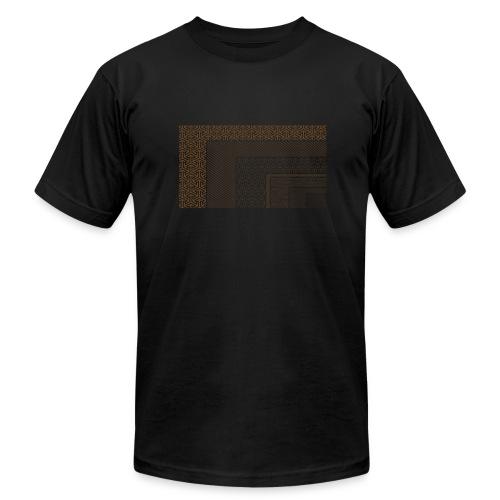 FilmRes Chart BROWN - Men's Fine Jersey T-Shirt