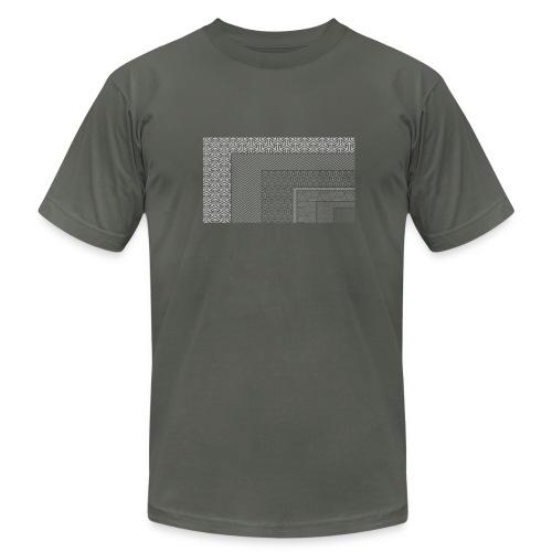 FilmRes Chart WHITE - Men's Fine Jersey T-Shirt