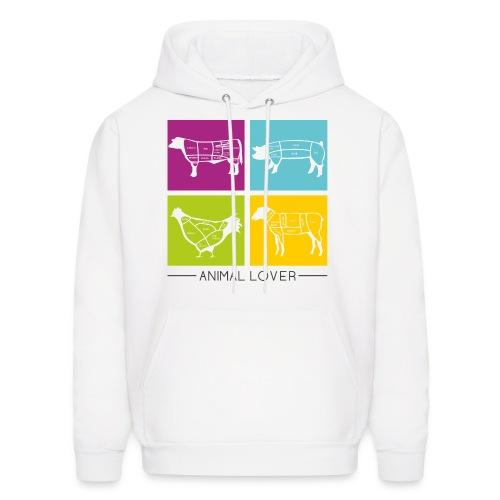 Animal Lover - hoodie - Men's Hoodie