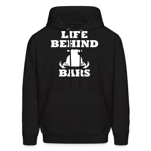 LIFE BEHING BARS - Hoodie - Men's Hoodie