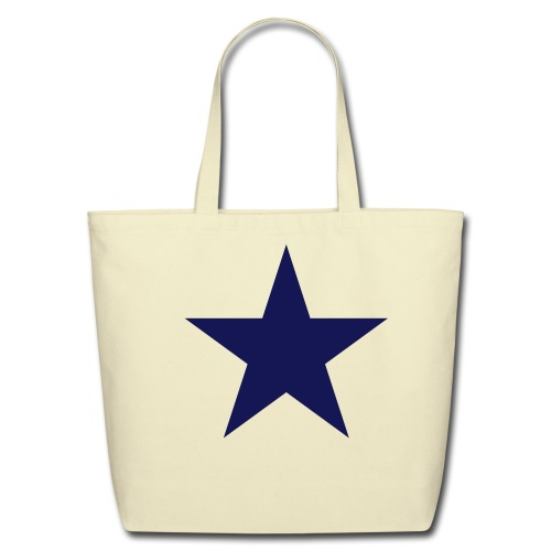 Star Shopping Bag - Eco-Friendly Cotton Tote