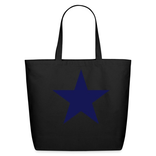 Star Shopping Bag - Eco-Friendly Cotton Tote
