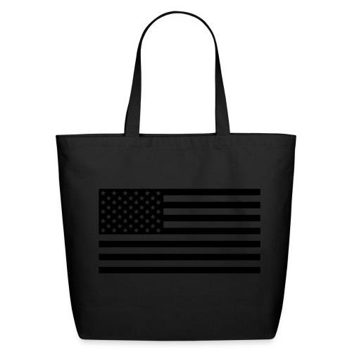American Flag Shopping Bag - Eco-Friendly Cotton Tote