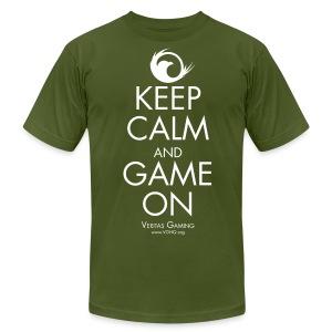 VG Keep Calm White 3X - Men's Fine Jersey T-Shirt