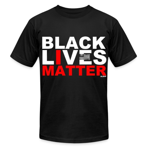 Black Lives Matter Tee - Men's Fine Jersey T-Shirt