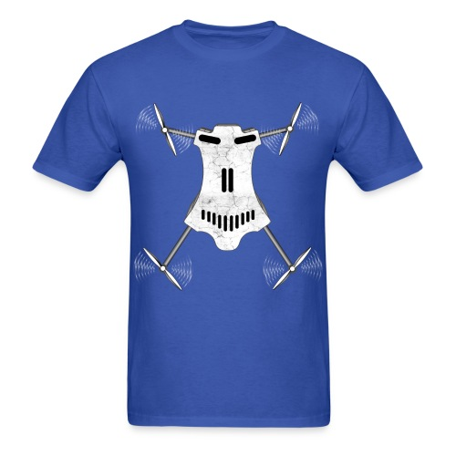 Drone / Copter Skull T-Shirts - Men's T-Shirt