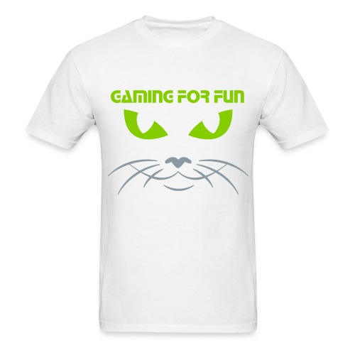 t-shirt GFF green cat - Men's T-Shirt
