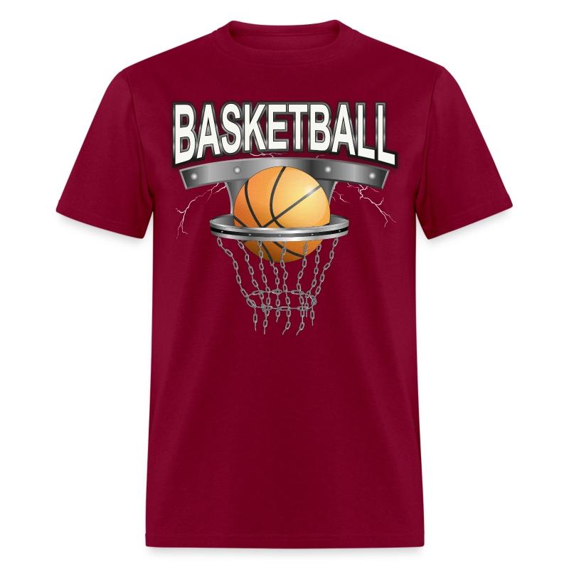 basketball with basket T-Shirt | Spreadshirt