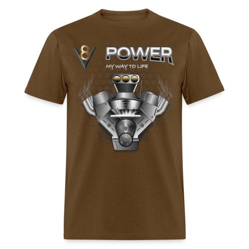 V8 Engine T-Shirts - Men's T-Shirt