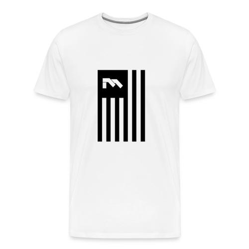 Immortal Flag Tee - White - Men's Premium T-Shirt