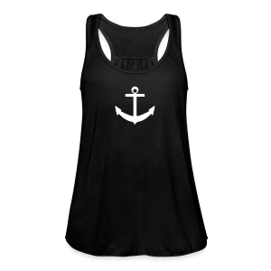 anchor flow tank top  - Women's Flowy Tank Top by Bella