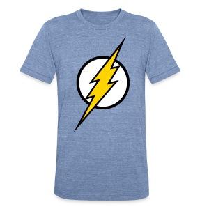 The Flash - SD Powder Blue (Unisex) - Unisex Tri-Blend T-Shirt