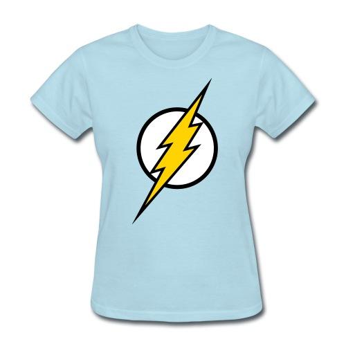 The Flash - SD Powder Blue (Women's) - Women's T-Shirt