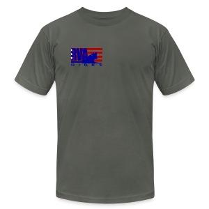 RVA Rides Men's  T-Shirt American Apparel - Men's Fine Jersey T-Shirt
