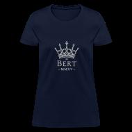 T-Shirts ~ Women's T-Shirt ~ QueenBert 2015-Silver Glitter