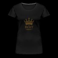 T-Shirts ~ Women's Premium T-Shirt ~ QueenBert 2015-Gold Glitter