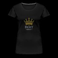 T-Shirts ~ Women's Premium T-Shirt ~ QueenBert 2015-Gold/Silver