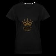 T-Shirts ~ Women's V-Neck T-Shirt ~ QueenBert 2015-Gold Glitter