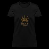 T-Shirts ~ Women's T-Shirt ~ QueenBert 2015-Gold Glitter