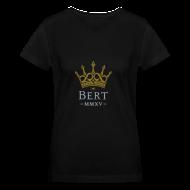 T-Shirts ~ Women's V-Neck T-Shirt ~ QueenBert 2015-Gold/Silver