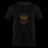T-Shirts ~ Men's T-Shirt ~ QueenBert 2015-Gold Glitter
