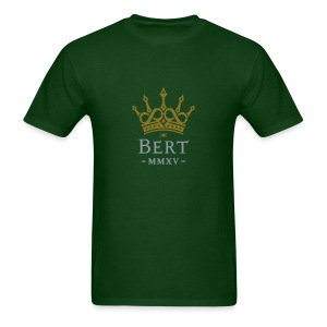QueenBert 2015-Gold/Silver - Men's T-Shirt