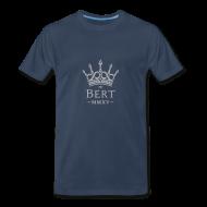 T-Shirts ~ Men's Premium T-Shirt ~ QueenBert 2015-Silver Glitter