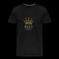 T-Shirts ~ Men's Premium T-Shirt ~ QueenBert 2015-Gold/Silver