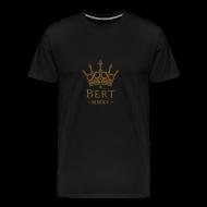 T-Shirts ~ Men's Premium T-Shirt ~ QueenBert 2015-Gold Glitter
