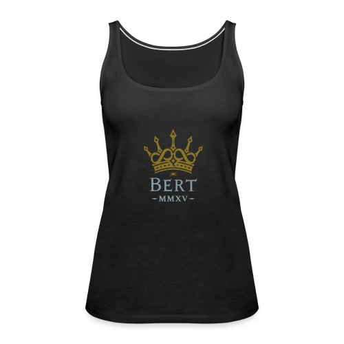 QueenBert 2015-Gold/Silver - Women's Premium Tank Top