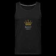 Sportswear ~ Men's Premium Tank ~ QueenBert 2015-Gold/Silver