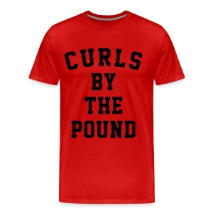 Curls by the pound - Men's Premium T-Shirt