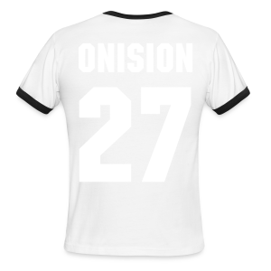 Onision #27 Sports T Shirt - Men's Ringer T-Shirt