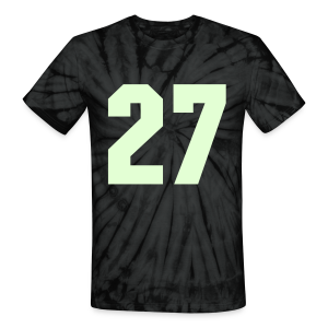Onision #27 Glow In The Dark Tie Dye Shirt - Unisex Tie Dye T-Shirt