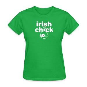 Irish Chick - Women's T-Shirt