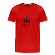 T-Shirts ~ Men's Premium T-Shirt ~ QueenBert 2015-Black Glitter