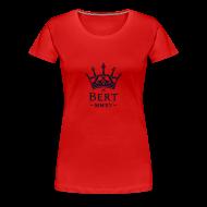 T-Shirts ~ Women's Premium T-Shirt ~ QueenBert 2015-Black Glitter