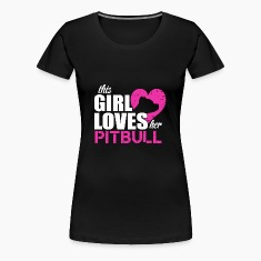 Pitbull love Women's T-Shirts