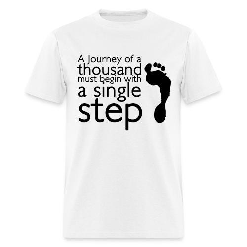 A Single Step - Men's T-Shirt