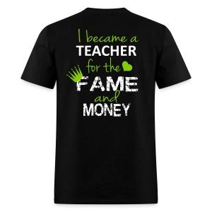 fame and money-Mens - Men's T-Shirt
