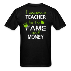 fame and money-Mens - Men's T-Shirt