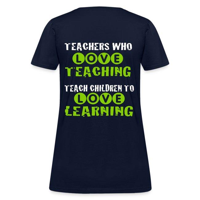Teachers who love teaching 2