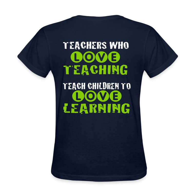 Teachers who love teaching 2 - Women's T-Shirt