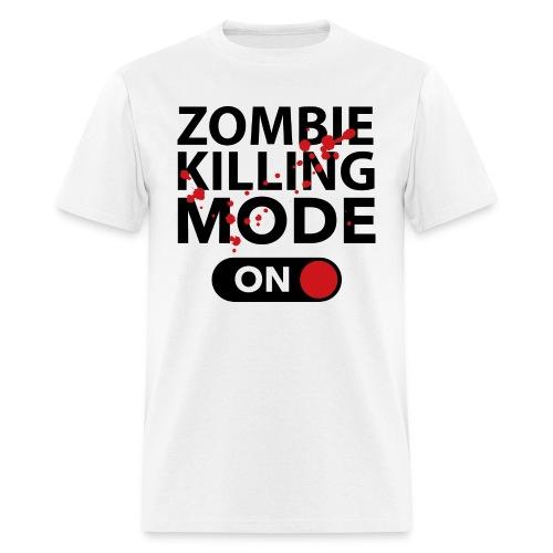 T-shirt Zombie killing - T-shirt pour hommes